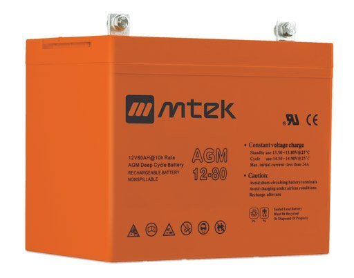 MT121400D (12V140AH) deep cycle battery